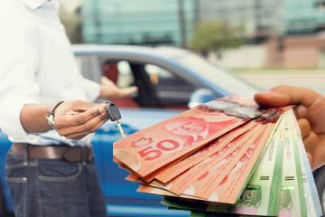selling car in Calgary